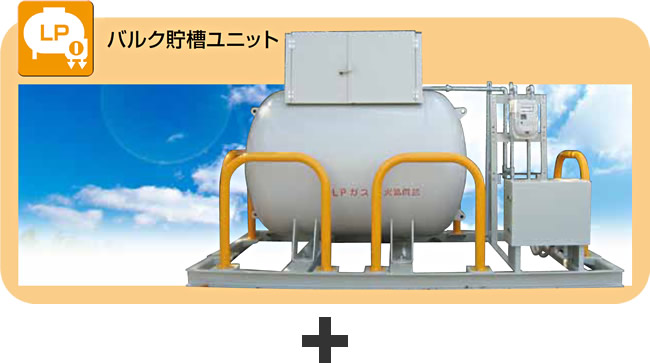 バルク貯槽ユニット
